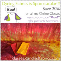 Online Dyeing Classes on Sale!