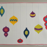 New Art Quilt: Jetson's Christmas