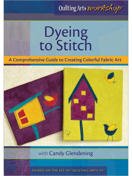 Dyeing-to-stitch