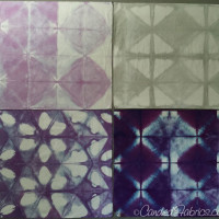 Studio Snapshots | Purple, Grey and Gold Baby Quilt Step 3