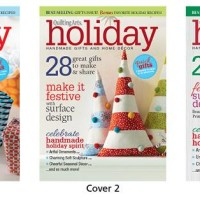 Vote for This Year's Quilting Arts Holiday Magazine cover!