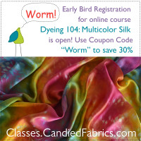 Dyeing 104: Multicolor Silk has Launched!