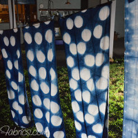 Studio Snapshots | Indigo Dyeing Under the Super Moon Eclipse!