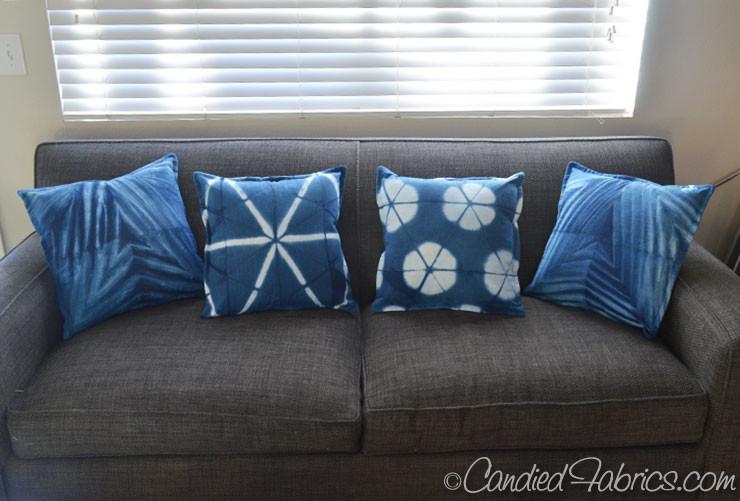 Indigo-pillows
