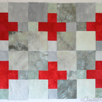 5 | The Background of My Scrappy Swiss Cross Quilt is Gonna Be Scrappy!!