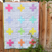 A Swiss Cross Quilt for Baby Annalise!