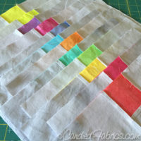 A Swiss Cross Quilt for Annalise, the process