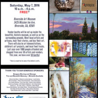Riverside Art Market Saturday May 7