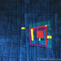 Studio Snapshots | A Big Improv Pillow