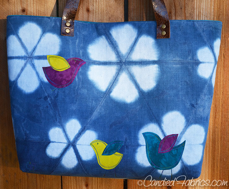 Indigo-Leather-Handle-Linen-Tote-Cotton-Blossom-2