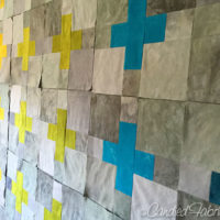 10 | Close to the Finish Line with Blocks for My Scrappy Swiss Cross Quilt!