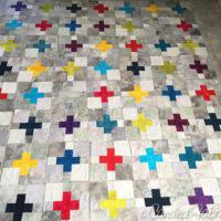 11 | Scrappy Swiss Cross Blocks are Complete!