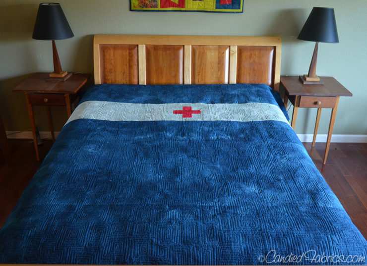 Scrappy-Swiss-Cross-Quilt-Prewashing-14