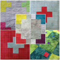 12 | Found: A Quilting  Motif for my Scrappy Swiss Cross Quilt