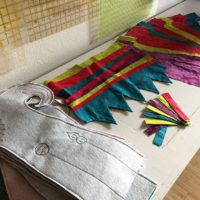 Studio Snapshots   8 Jester Stockings Almost Complete!