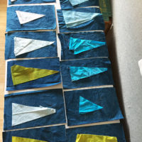 1 | Getting Started on my Wonky Tree Quilt