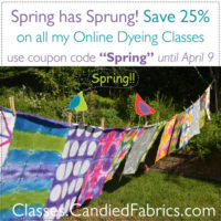 Spring Has Sprung! All Online Classes on Sale