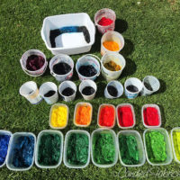 Studio Snapshots | A Glorious Weekend for Dyeing