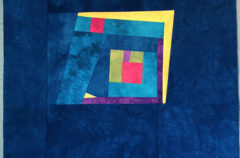 1 | The Start of an Improv Log Cabin-ish Quilt for Liam