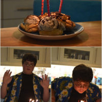 Logan is 16!