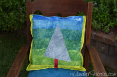 6 | A Pillow for a Wonky Baby Tree Nursery
