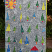 5 | Wonky Tree Baby Quilt Complete!
