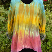 Custom Dyed Gauze Shirt
