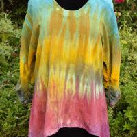 Custom Dyed Gauze Shirt
