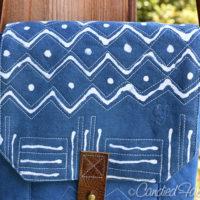 Studio Snapshots | Prototype #2 of Cross Body Leather Strap Bag Complete!