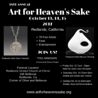 Art, for Heaven's Sake Art Show this weekend!