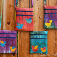 4 More Birdie Zip & Go Bags in My Autumn Splendor Palette!