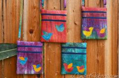 4 More Birdie Zip & Go Bags in My Autumn Splendor Palette!