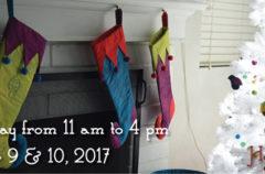 Dec 9 & 10, 2017 | My Holiday Open Studio!!!!