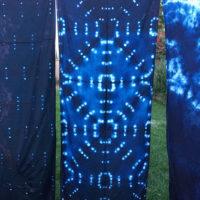Studio Snapshots | Indigo Dyeing More Scarves