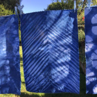 Indigo Dyed Essex Cotton/Linen Fat Qarters