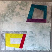 Studio Snapshots | Improv Sampler Quilt Block 2
