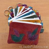 Tadah! 10 New Birdie Zip Wallets