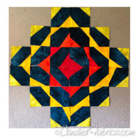 Studio Snapshots | Starting a Wonky Triangle Medallion Quilt