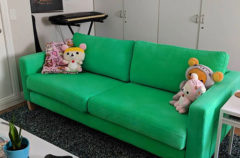 Another Custom Dyed Ikea Couch Slipcover