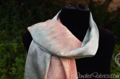 Studio Snapshots | 2 Custom Silk Scarves