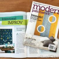 Modern Patchwork   Intentional Improvisational Piecing