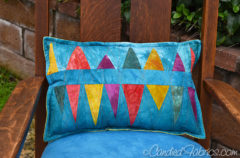 New Improv Pieced Pillows Complete