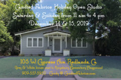 December 14 & 15 | My Holiday Open Studio